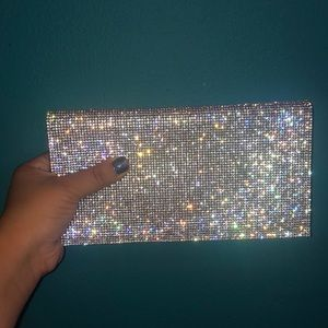 Sequined Clutch & Crossbody Purse